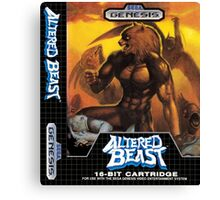 Altered Beast Canvas Print