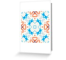 Watercolor pattern 11 Greeting Card