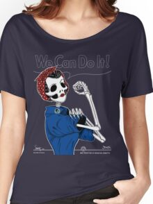 Rosie: We Can Do It! Women's Relaxed Fit T-Shirt