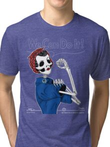 Rosie: We Can Do It! Tri-blend T-Shirt
