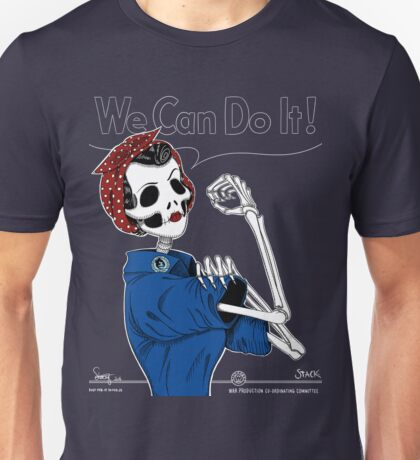Rosie: We Can Do It! Unisex T-Shirt