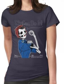 Rosie: We Can Do It! Womens Fitted T-Shirt