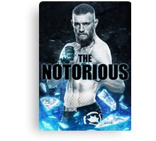 Connor Mc Gregor Canvas Print