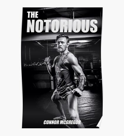 Connor Mc Gregor Poster