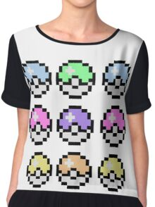 Pokemon Pastel Chiffon Top