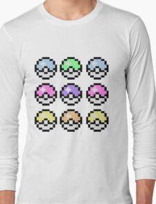 Pokemon Pastel Long Sleeve T-Shirt