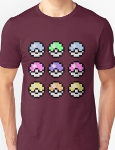 Pokemon Pastel Unisex T-Shirt