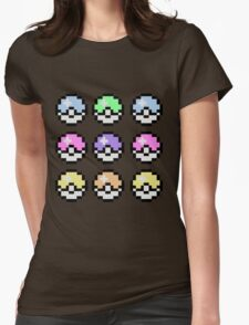Pokemon Pastel Womens Fitted T-Shirt