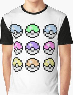 Pokemon Pastel Graphic T-Shirt