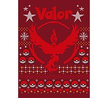 Valor Ugly Sweater Photographic Print