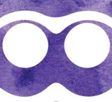 Purple Watercolor Squid Sticker Sticker