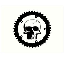 Sprocket Skull Art Print