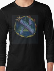 ALEF - 1 - The Mysteries of Oneness Long Sleeve T-Shirt