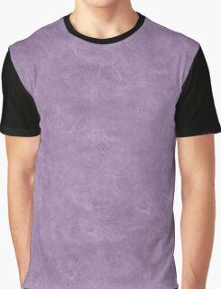 Orchid Mist Oil Pastel Color Accent Graphic T-Shirt
