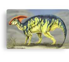 Parasaurolophus Reconstruction Canvas Print