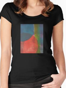 Circles Women's Fitted Scoop T-Shirt