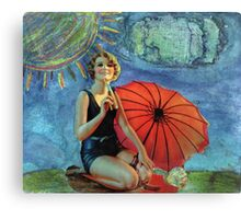 The Pause That Refreshes Canvas Print