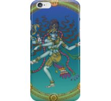 Hindu goddess Saraswati iPhone Case/Skin