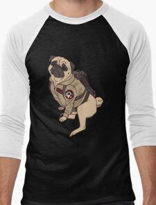 Pugbusters Men's Baseball ¾ T-Shirt