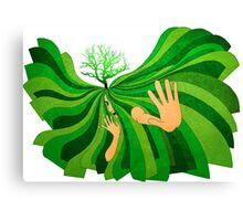Save Soil Canvas Print