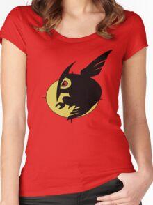 Night raid logo Women's Fitted Scoop T-Shirt