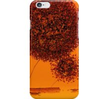 Red Big Trees iPhone Case/Skin