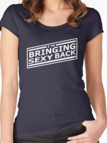 Bringing Sexy Back (White) Women's Fitted Scoop T-Shirt