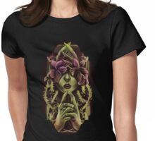 Woman In Vines Womens Fitted T-Shirt
