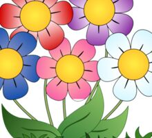 Flowers Art and paintings Sticker
