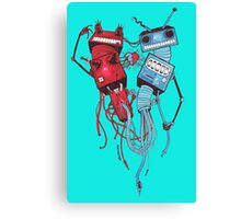 Tentacle Robots Canvas Print