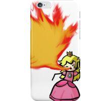 Fire Breathing Princess Peach iPhone Case/Skin
