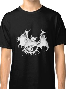 Sun Moon Skull Bat Classic T-Shirt