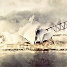 Sydney Opera House by Shanina Conway