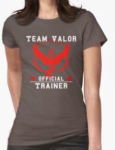Team Valor Official Trainer Womens Fitted T-Shirt