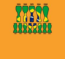 Brazil World Cup and Copa America Trophy Cabinet Unisex T-Shirt