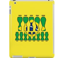 Brazil World Cup and Copa America Trophy Cabinet iPad Case/Skin