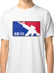 AR15 Red White and Blue Classic T-Shirt