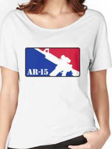 AR15 Red White and Blue Women's Relaxed Fit T-Shirt