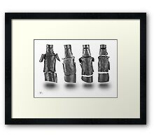 Kelly Gang Armour drawing Framed Print
