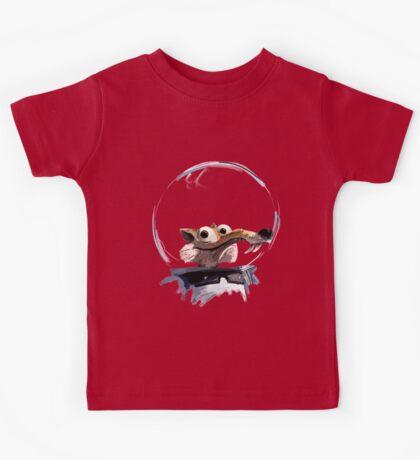 ICE AGE - Scrat 's full spacesuit Kids Tee