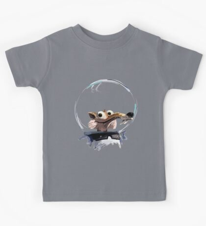 ICE AGE - Scrat 's full spacesuit Kids Tee