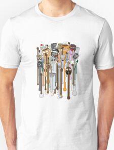 melting faces coffee Unisex T-Shirt