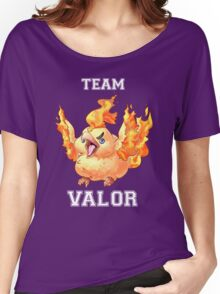 TEAM VALOR! Women's Relaxed Fit T-Shirt