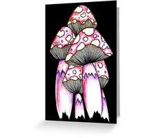 Toadstools Greeting Card