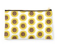Sunflower watercolour pattern Studio Pouch