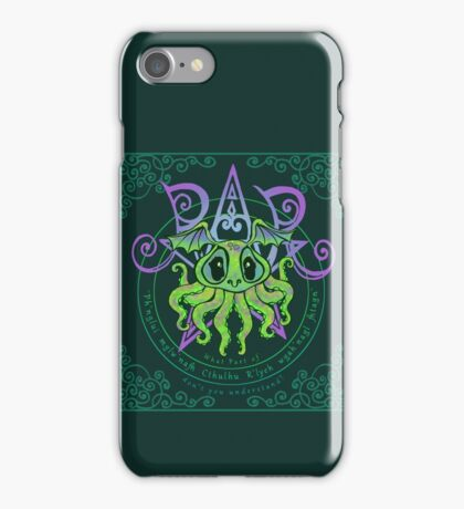Cutesy Cthulhu iPhone Case/Skin