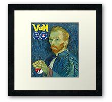 Van Go Framed Print