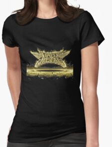 metal resistance new album babymetal 3D logo Womens Fitted T-Shirt
