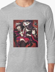 babymetal cartoon japanese metal band art Long Sleeve T-Shirt