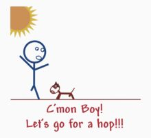 C'mon Boy; Let's Go For a Hop! by BWoods37